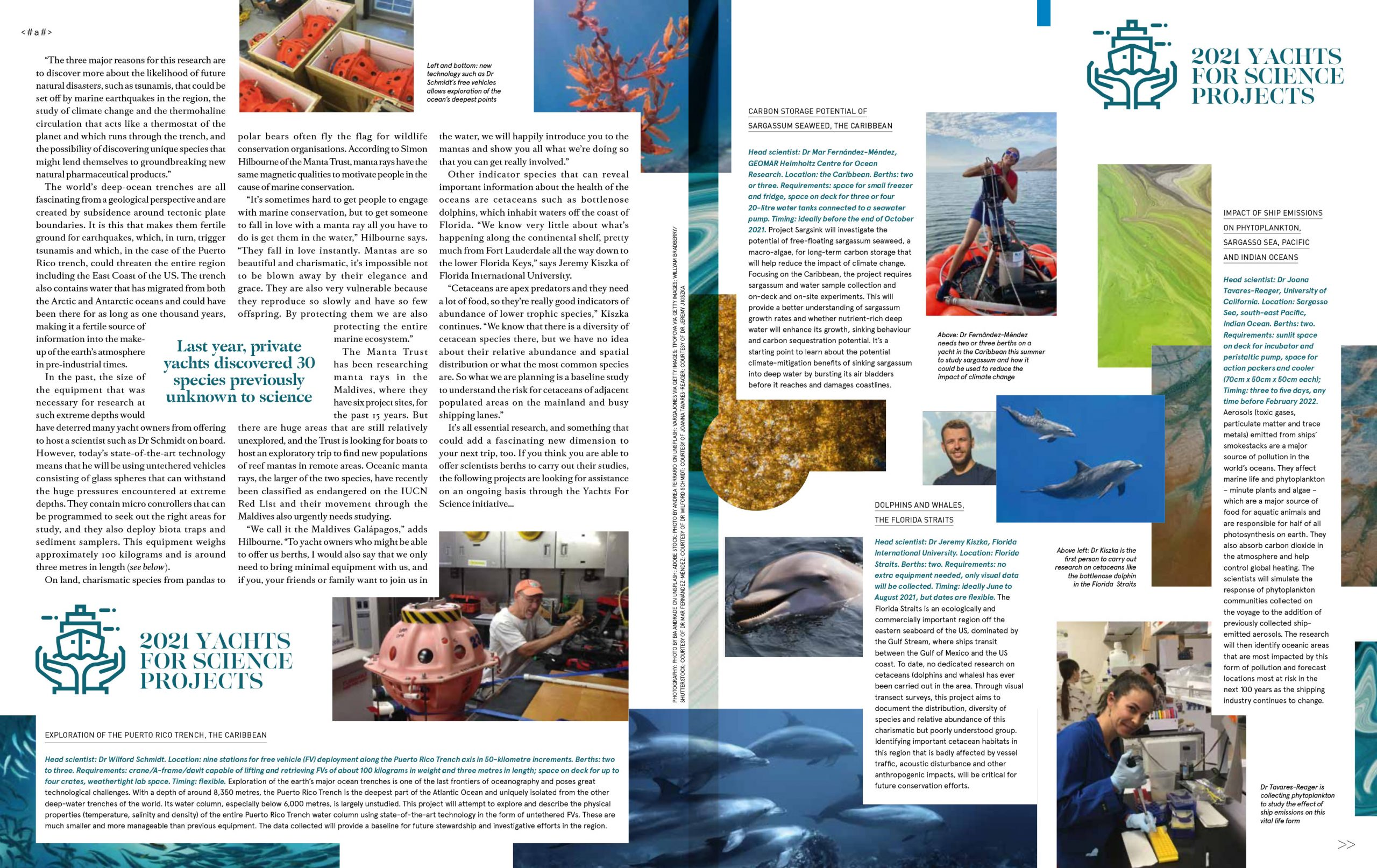 All Hand on Deck Article in Boat International Page 2